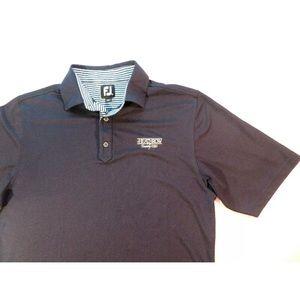 FootJoy Heathrow Golf Country Club Polo Shirt Navy